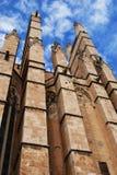 Vieille cathédrale gothique Images libres de droits