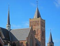Vieille cathédrale médiévale Photo stock