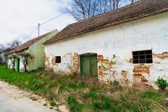 Vieille cave de vigne photographie stock libre de droits