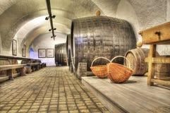 Vieille cave de vigne Photos stock