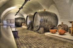 Vieille cave de vigne Images stock