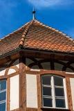 Vieille Chambre à colombage - Bavière Allemagne images stock