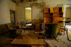 Vieille Chambre abandonnée Photos stock