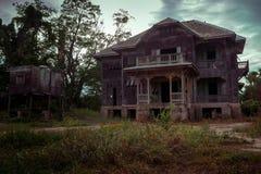 Vieille Chambre abandonnée image libre de droits