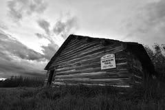 Vieille Chambre abandonnée d'école Photo libre de droits