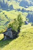 Vieille Chambre abandonnée Magura, Brasov Roumanie Image libre de droits