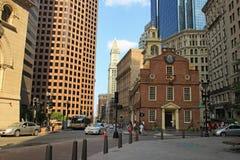 Vieille Chambre d'état à Boston Photo libre de droits