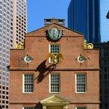 Vieille Chambre d'état, Boston, mA, Etats-Unis Photographie stock