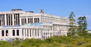 Vieille Chambre de puissance : Abandonné dans Fremantle, Australie occidentale Photo libre de droits