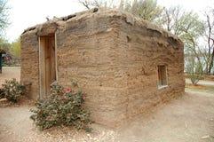 Vieille Chambre ou hutte de gazon Images stock