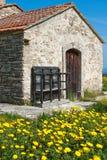 Vieille chapelle, Chypre Photos stock