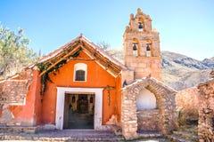 Vieille chapelle coloniale Photos libres de droits