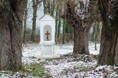 Vieille chapelle de campagne Photographie stock libre de droits