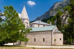 Vieille chapelle, une partie de monastère d'Ostrog Image libre de droits