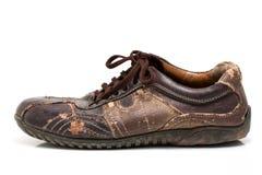 Vieille chaussure Photographie stock libre de droits