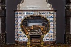 Vieille cheminée Photo stock