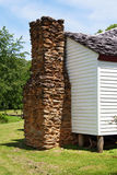Vieille cheminée au stationnement national de montagnes fumeuses. Images stock