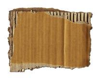 Vieille chute de carton Image stock