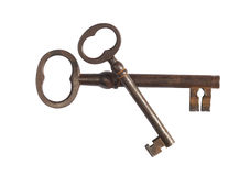 Vieille clé Photographie stock
