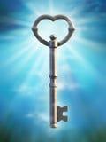 Vieille clé Photo stock