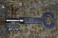 Vieille clé Image stock