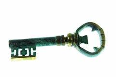 Vieille clé rouillée image libre de droits