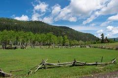 Vieille clôture de corral photos libres de droits
