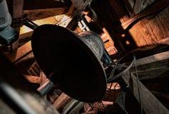 Vieille cloche d'église Image libre de droits