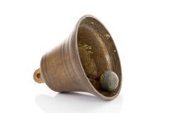 Vieille cloche en bronze image stock