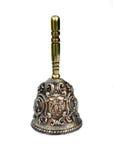 Vieille cloche en bronze images libres de droits