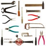 Vieille collection utilisée 2 d'outils photographie stock libre de droits