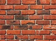 Vieille configuration de mur de briques Image libre de droits