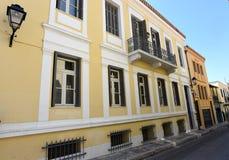 Vieille construction à Athènes, Grèce image libre de droits