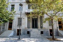 Vieille construction à Athènes, Grèce image stock
