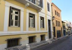 Vieille construction à Athènes, Grèce photo stock