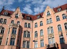 Vieille construction à Riga Images stock