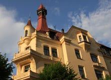 Vieille construction à Riga Photos stock