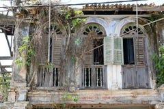 Vieille construction abandonnée Images stock