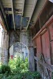 Vieille construction abandonnée Photos libres de droits