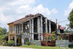 Vieille construction abandonnée Image libre de droits