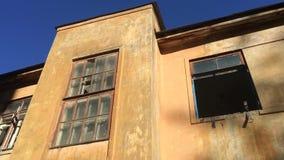 Vieille construction abandonnée banque de vidéos