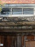 Vieille construction abandonnée image stock