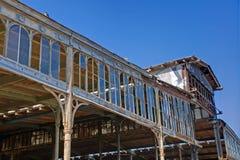 Vieille construction d'usine Photographie stock