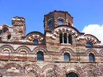 Vieille construction dans Nessebar, Bulgarie Image stock