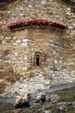 Vieille construction dans Ohrid Image libre de droits
