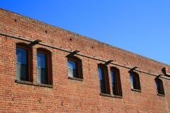 Vieille construction de brique photo libre de droits