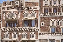 Vieille construction de Sanaa Images stock
