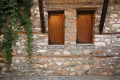 Vieille construction en pierre image libre de droits