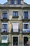 Vieille construction en Séville, Espagne Photo stock