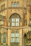Vieille construction gothique Photo libre de droits